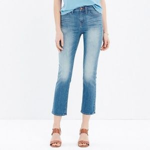Madewell Kick Out Crop 25